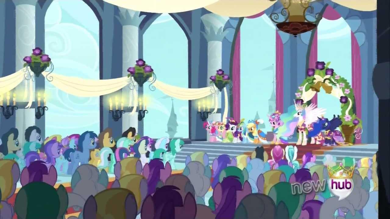 princess twilight sparkle s coronation   full scene   youtube