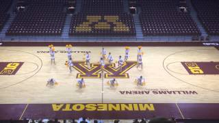 DanceFullOut13 - Minnesota State University Mankato Dance Team Pom 2014