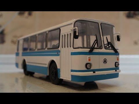 Р/У модель автобуса ЛАЗ 965н в масштабе 1/43 серия 1