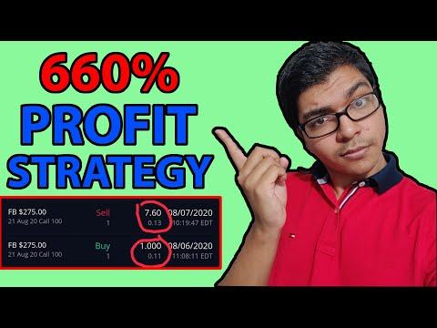 How This Options Trading Strategy Made Me 660% In 1 Trade?