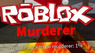 1% ASSASSINO - ROBLOX OMICIDIO MISTERO 2