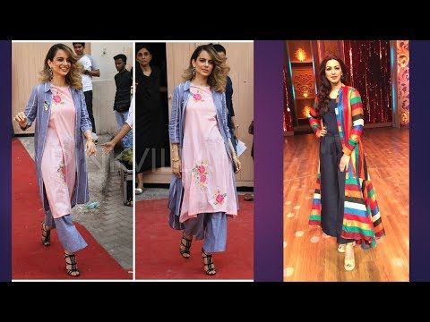 Exclusive Bollywood Fashionable Kurti Designs