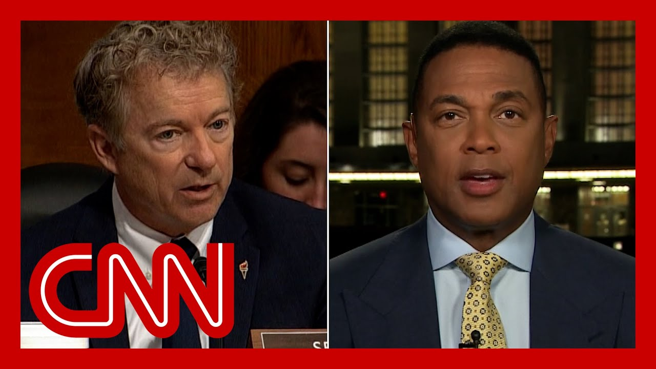 Download 'You look like an idiot': Don Lemon reacts to Rand Paul's dustup with Fauci