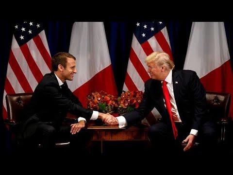 euronews (deutsch): Treffen mit Trump: Macron will Handelskrieg verhindern