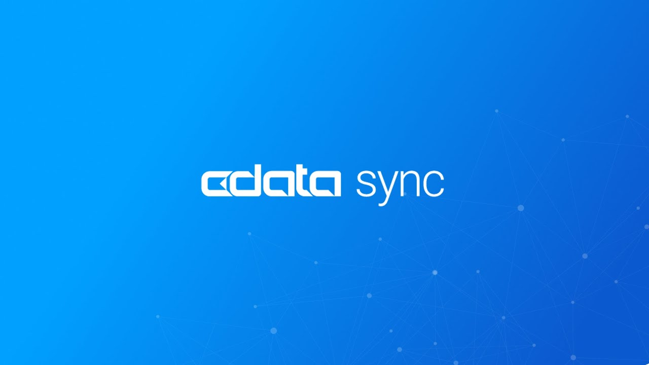 CData Sync Application Overview