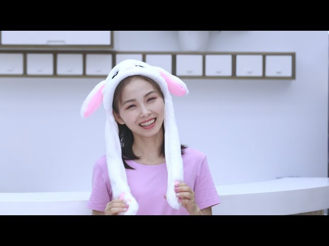 8778b21bc530e Cute Bunny Hat with Pop-Up Ears When Pressing Paws Never a dull video live  with a bunny hat! Put on this bunny hat