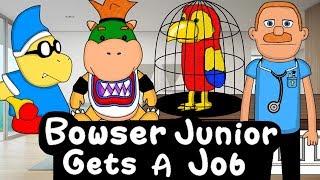 SML Movie: Bowser Junior Gets A Job! Animation