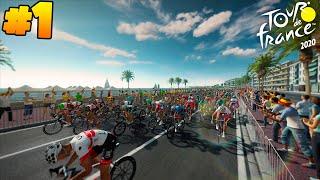 Tour De France 2020 PS4 | Astana #1 - WE BEGIN! | (Nice–Nice Gameplay Stage 1)