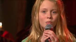 Zara Larsson - A Moment Like This (Cover) | Live i Malou Efter tio 2009