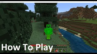 Minecraft: PC - How To Play - Controls {3}