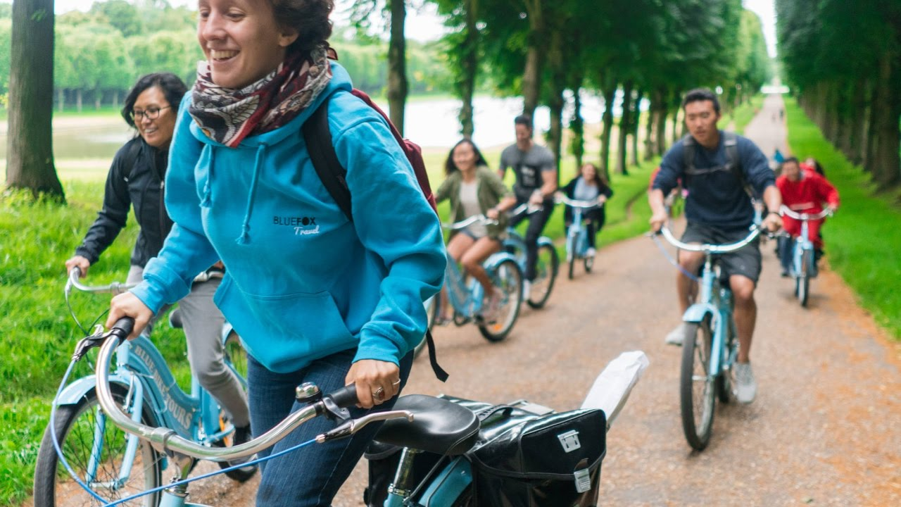 versailles bike tour blue bike tours youtube. Black Bedroom Furniture Sets. Home Design Ideas