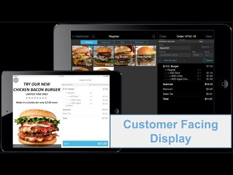 talech POS - Customer Facing Display (QSR)