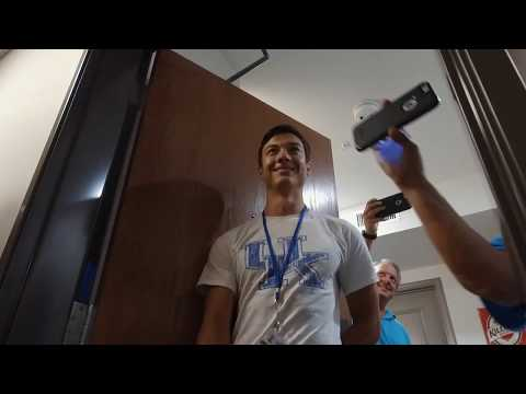 New University of Kentucky Student Surprised with Serenade & Coke