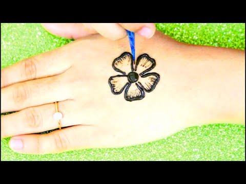 Mehndi Designs For Kids   Mehndi Design Back Hand   Simple Henna Designs   HENNA ART