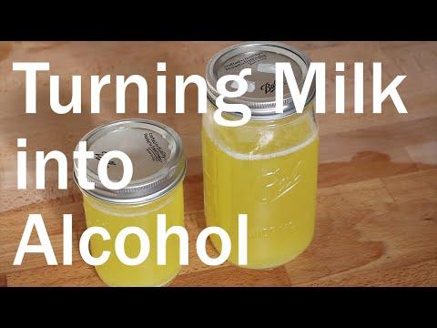 Making Blaand - Viking Fermented Alchoholic Milk Drink [Recipe]   Flavor Lab