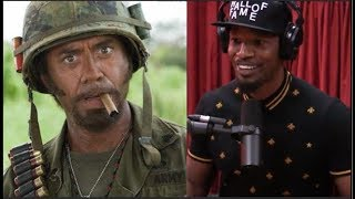 Jamie Foxx on Robert Downey Jr. Doing Blackface - Joe Rogan thumbnail