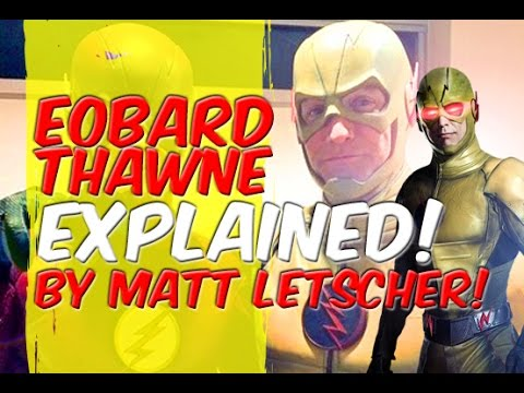 Eobard Thawne Explained By Matt Letscher!  Flash!  Legends Of Tomorrow!  Lets Talk! ReverseFlash