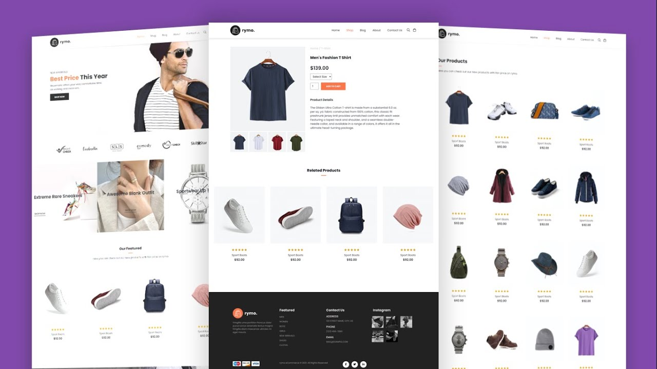 How To Make Ecommerce Website Using HTML And CSS Step By Step