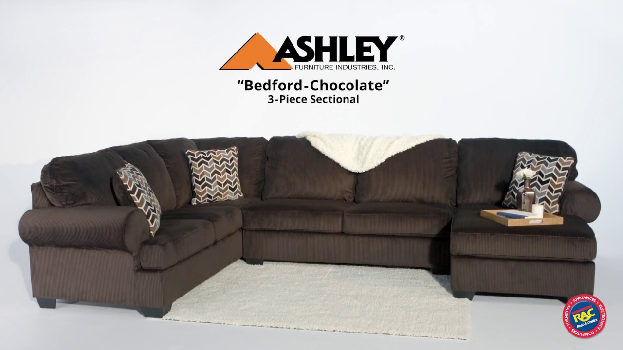 Rethink Living Room Seating With The Ashley Bedford Sectional By  Rent A Center