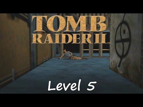 Tomb Raider 2 Walkthrough - Level 5: Offshore Rig
