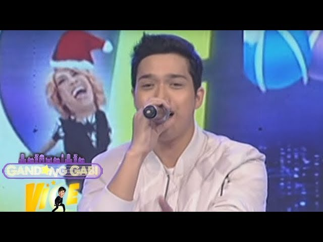 Elmo Magalona sings 'Sorry' on GGV
