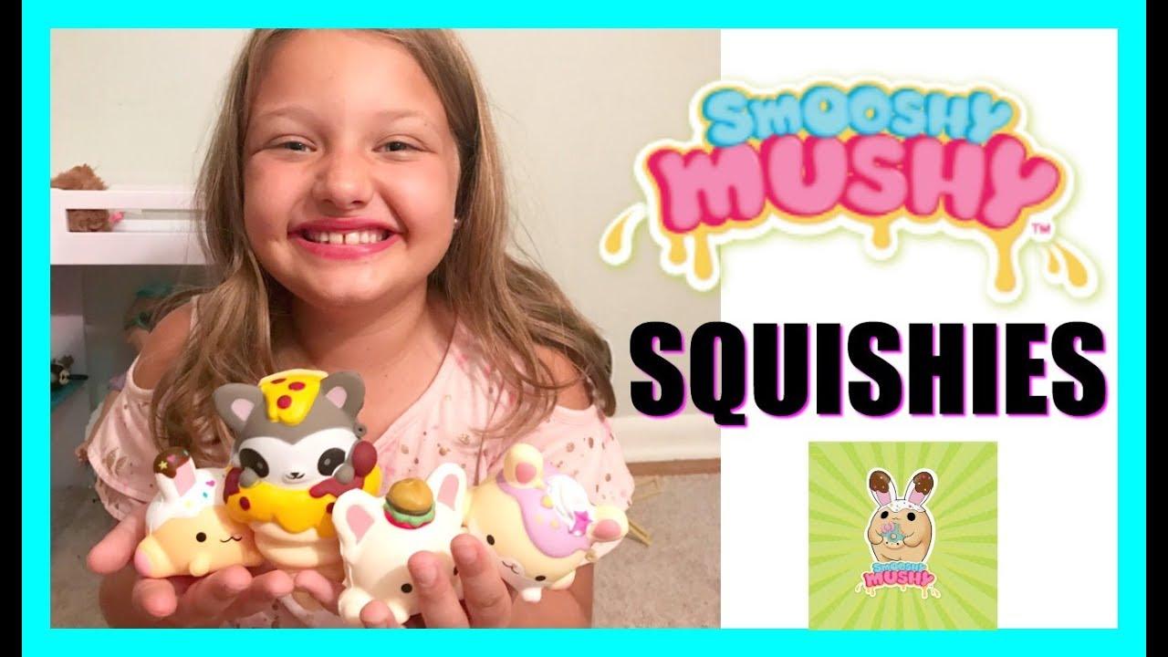 Squishy Mushy Squishies : SQUISHY BLIND BAGS Smooshy Mushy SURPRISE Squishies Toys! - YouTube