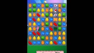 Candy Crush Saga Level 402 iPhone No Boosts