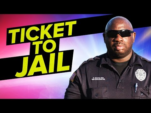How A Traffic Ticket Leads To Jail