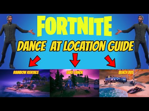Fortnite 8 Ball Vs Scratch Challenge Dance At 3 Different Locations