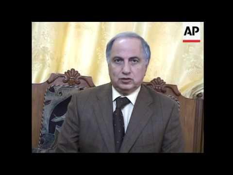 Chalabi on CIA's resignation, pix of al Sadr