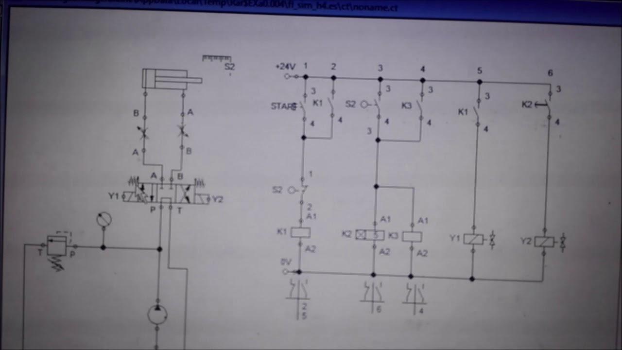 Circuito Hidraulico : Circuito hidraulico youtube