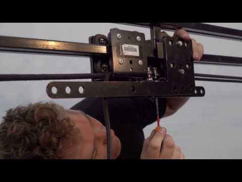 Theatre Curtain Tab Track Setup using Triple E Unitrack