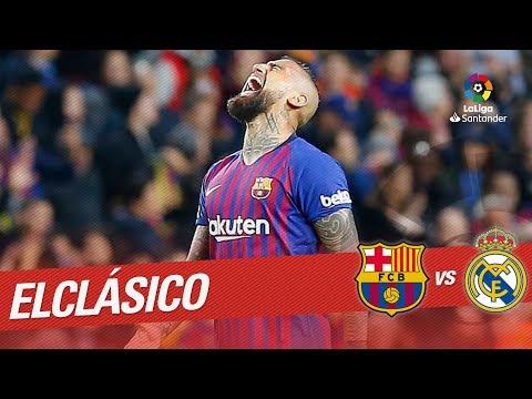 ElClásico - Gol de Arturo Vidal (5-1) FC Barcelona vs Real Madrid