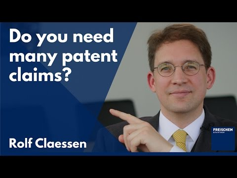 Does it help to have a lot of patent claims?