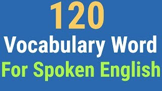 Best English Vocabulary For Spoken English Conversation #Speaking English Video
