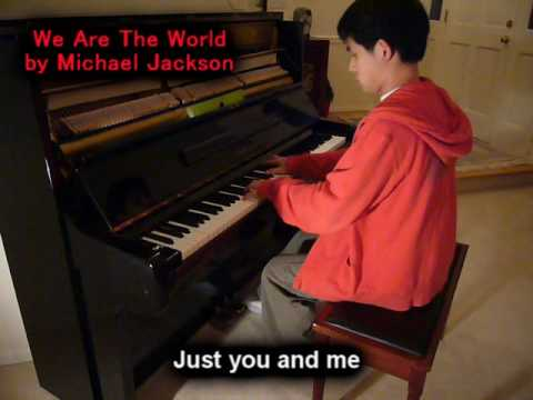 We Are The World (Piano Cover by Will Ting) Music Video