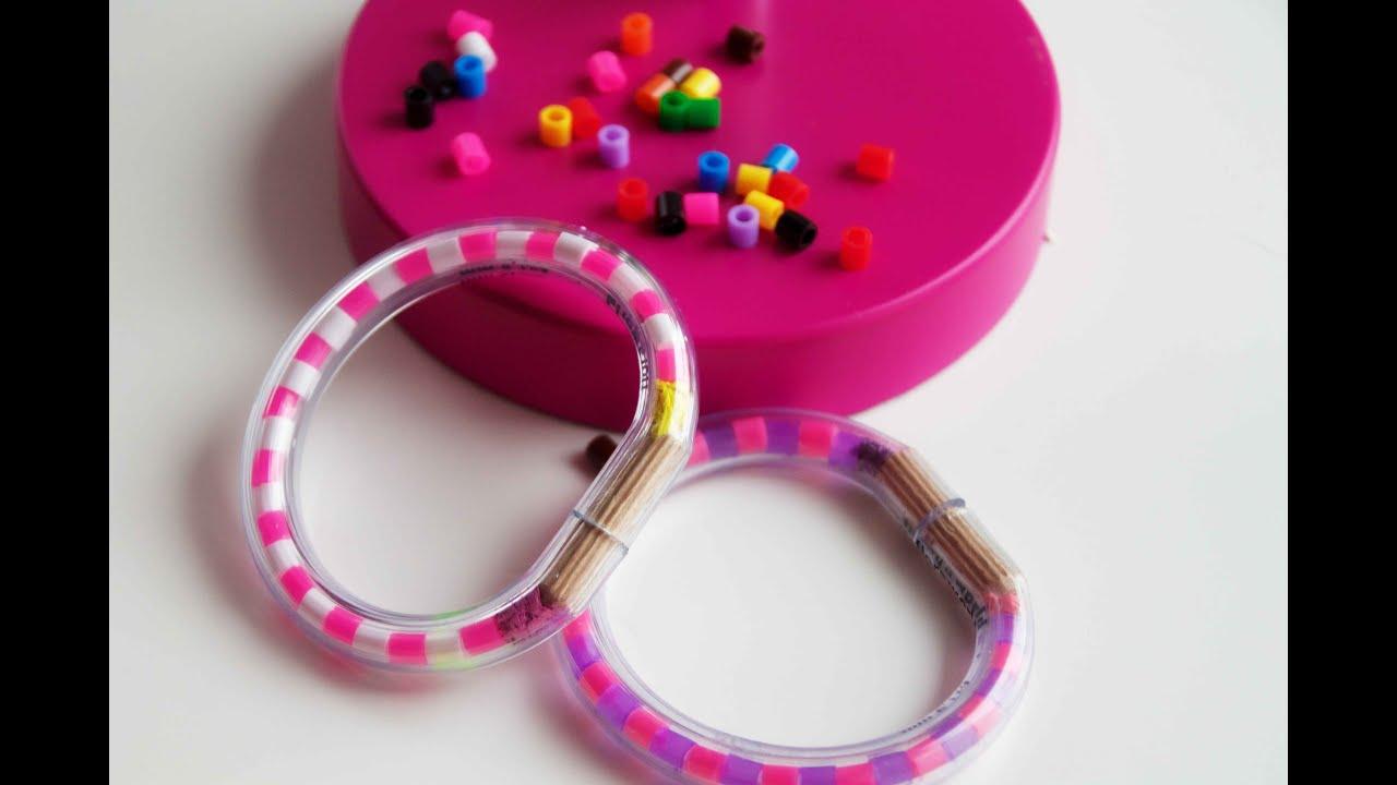DIY Armband aus Bügelperlen selber machen Basteln mit Kids TäglichMama YouTube ~ 01153827_Liegestuhl Basteln Mit Geldschein