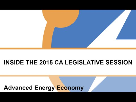 2015 CA Legislative Session Wrap-up