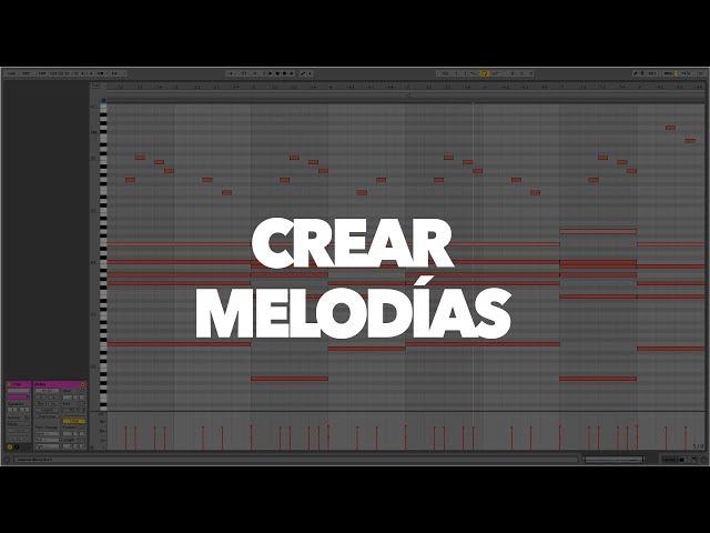 Crear melodías en Ableton Live - Principiantes