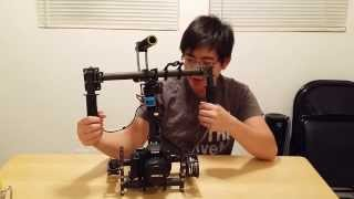 Repeat youtube video DSLR 3 Axis Handheld Brushless Gimbal.