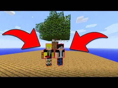 ILHA ENCANTADA - BLUEE VEIO ME AJUDAR #02 (Sky Factor Minecraft)