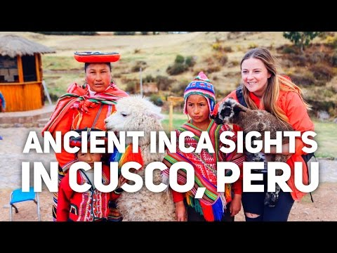 UNEXPECTED ANCIENT INCA SIGHTS TO SEE AROUND CUSCO, PERU || Peru Travel Vlog - Day 4
