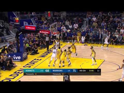 Malik Monk Full Play 11/02/19 Charlotte Hornets Vs Golden State Warriors | Smart Highlights