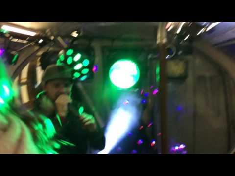 Rave on the London Underground!