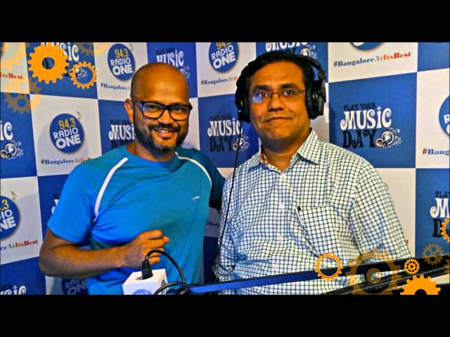 Rajendra Prasad talks about Innovation Jockeys on 94.3 Radio One - YouTube