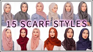15 EASY HIJAB TUTORIALS | Amena