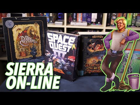 Sierra & The Golden Age Of 'Big Box' PC Games - Complete In Box