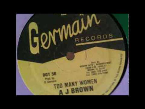 A.J.  Brown - Too Many Women