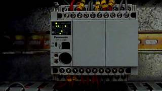 Panasonic PLC FP-X I/O work with contactors and solenoid valves