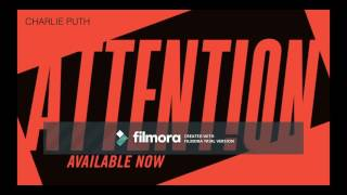 Charlie Puth  Attention Official music Mp3 / filmora /